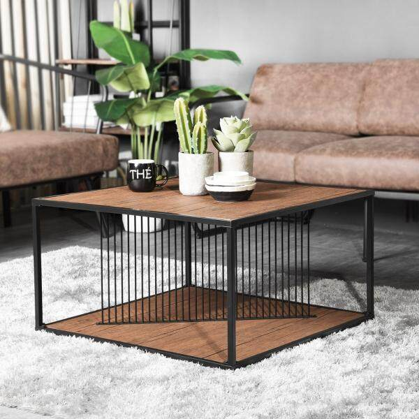 Zenco Coffee Table - Line Flak (ct Cc3434bk) By Zenco Online Store.