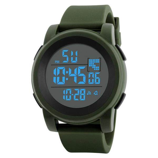 You raise me up Luxury Men Analog Digital Military Sport LED Waterproof Wrist Watch Malaysia