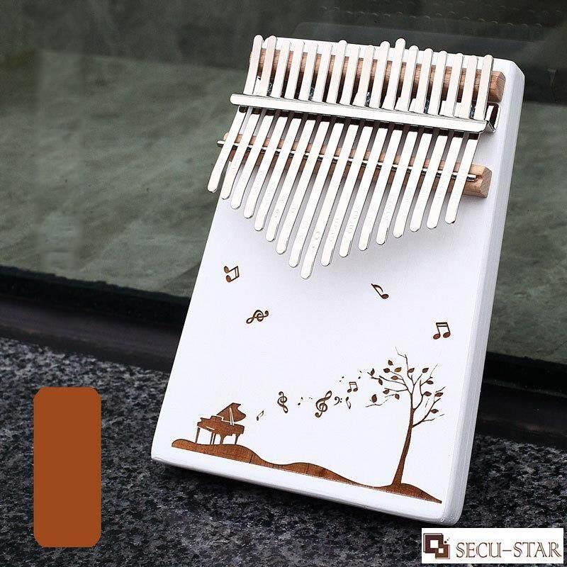 SECU-STAR 17 Phím Ngón Tay Nhạc Cụ Gõ Gỗ Kalimba Ngón Tay Cái Đàn Piano với Phụ Kiện