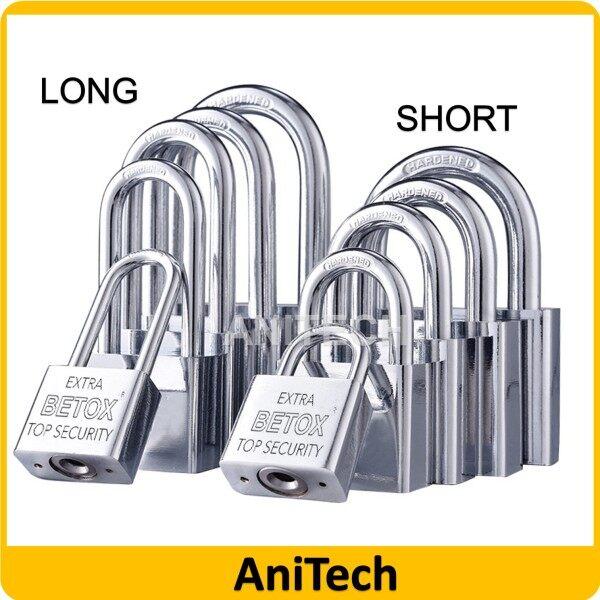 High Security Padlock Heavy Duty Brass Durable Safety Security Pad lock Silver Mangga Kunci 锁头 30MM 40MM 50MM AntiCut Normal