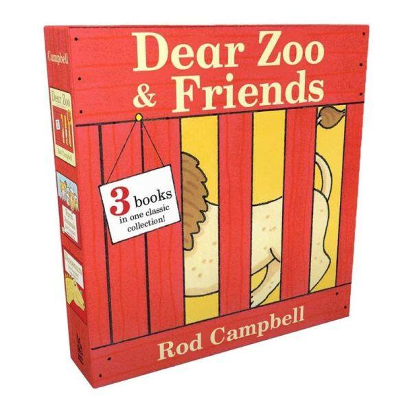 English original Dear Zoo Dear Zoo children English picture book 0-3 years old young children↓