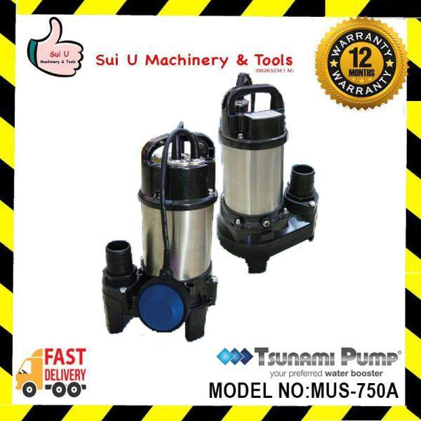 TSUNAMI MUS 750A / MUS750A / MUS-750A AUTOMATIC STAINLESS STEEL FANCY CARP SUBMERSIBLE PUMP 0.75KW