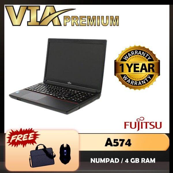 【READY STOCK】FUJITSU A574 CELERON 2950M-4TH GEN~4GB DDR3L~SSD~WINDOWS 10~HDMI Malaysia