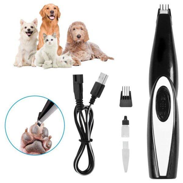 Tông Đơ Điện Cắt Lông Chó Mèo Thú Cưng Chuyên Nghiệp, Chải Chuốt Clipper Kit Tông Đơ USB, Có Thể Sạc Lại