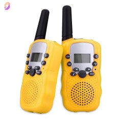 Trau Dồi 2 Cái/bộ Đồ Chơi Trẻ Em 22 Kênh Bộ Đàm 2 Chiều Radio UHF Tầm Xa Cầm Tay Thu Phát Trẻ Em Quà Tặng