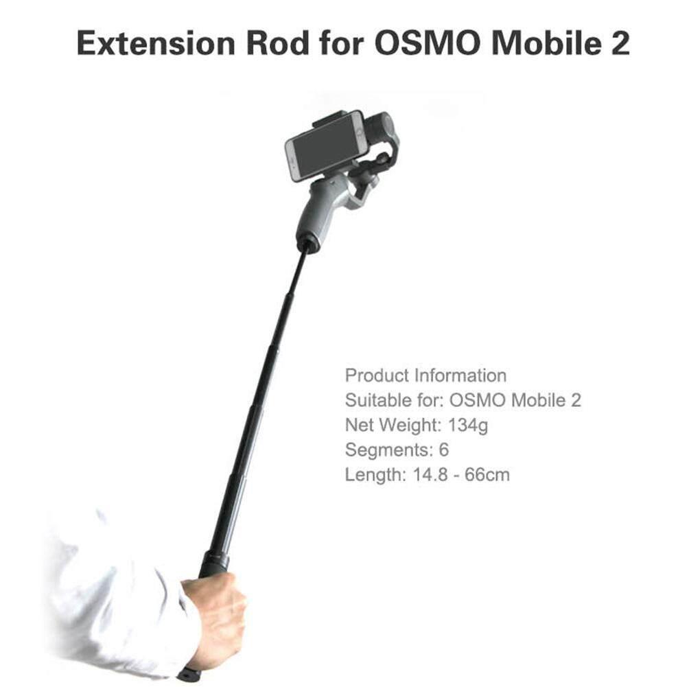 Giá Nối dài Dính Cần Có Khả Năng Mở Rộng Giá Đỡ cho DJI OSMO Mobile 2/Zhiyun Smooth Q 4 Cầm Tay Điện Thoại Thông Minh Gimbal Phụ Kiện