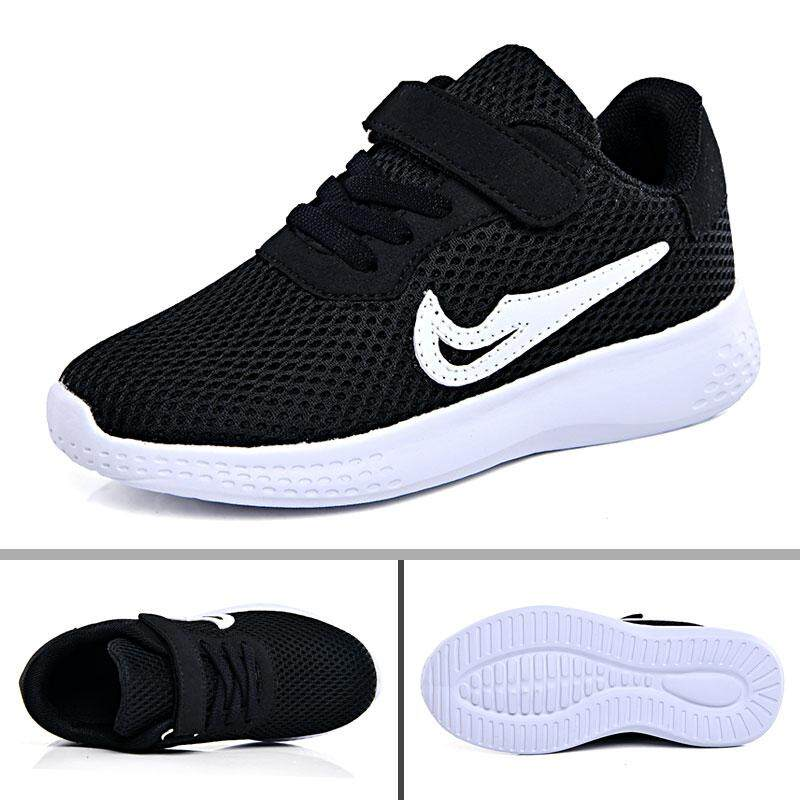 de448ad5c89ac Plus Size Kids Sneakers Non Slip Sports Shoes Breathable Mesh Running Shoes  Casual Shoes for Girls Boys