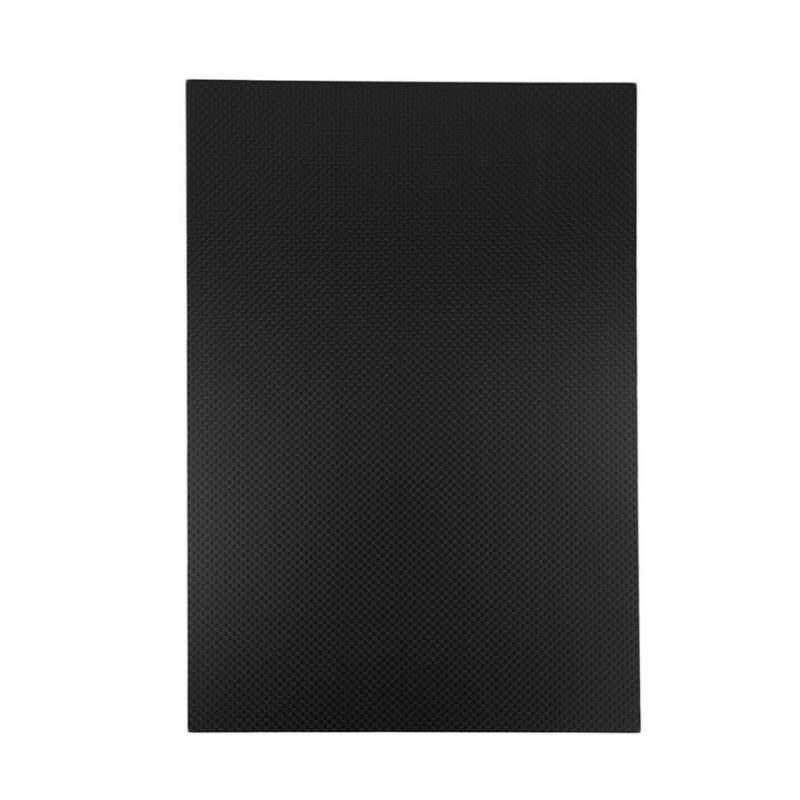 Mua 200X250 Mm 3K Tấm Sợi Carbon Tấm Vải Cacbon Đồng Bằng Dệt Tấm Bảng Mờ 0.5-5 Mm Thickness-3mm