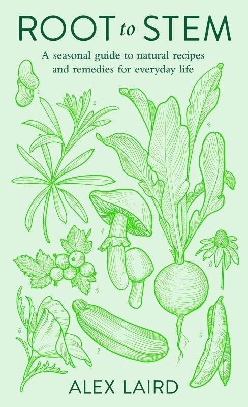BORDERS Root to Stem: A seasonal guide to natural recipes and remedies for everyday life Hardcover  by Alex Laird (Author) Malaysia