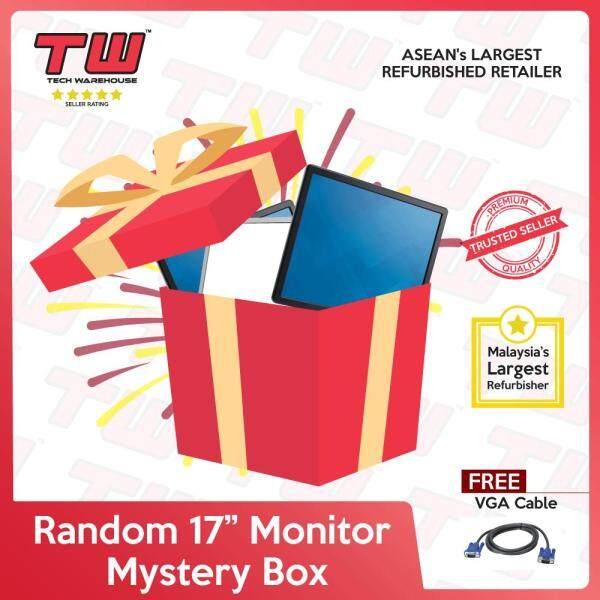 "Random Brand 17"" Monitor (Factory Refurbished) Malaysia"