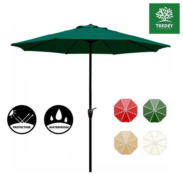 TREDEY 2.7M Garden Sunshade Patio Umbrella For Outdoor(NO BASE)