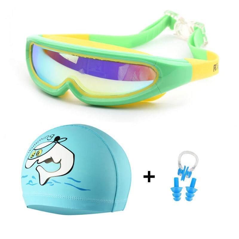 Kids Swimming Goggles Pool Swim Glasses Child Childrens Boy Girl Nose Ear Plug~P