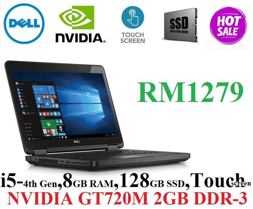 Dell Latitude E5440 Touch i5-4310u , 8GB DDR3L , 128GB SSD , 14Touch Screen Malaysia