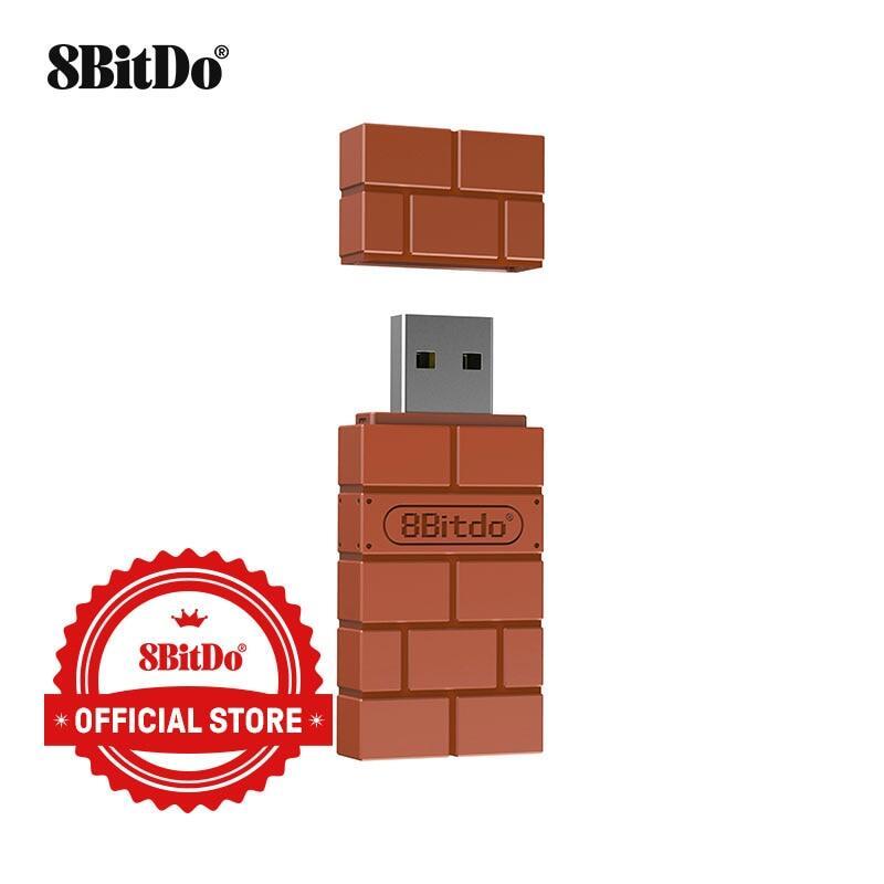 Bộ Chuyển Đổi Bluetooth Không Dây USB 8BitDo, Cho Windows Mac Raspberry Pi Nintendo Switch Hỗ Trợ Bộ Điều Khiển Xbox One PS3PS5 Cho Chuyển Đổi