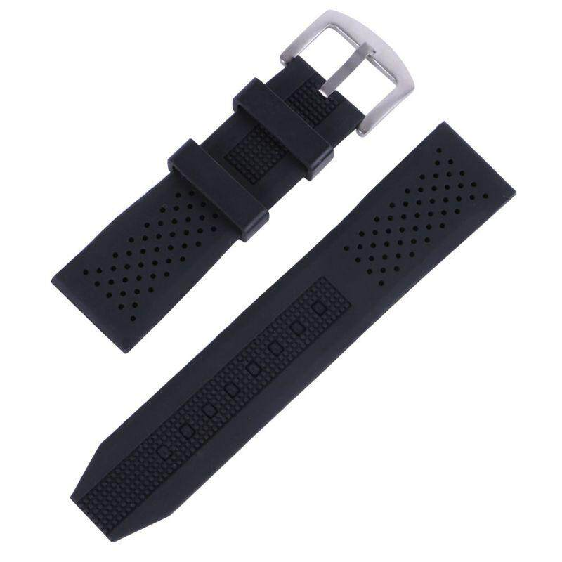 16-24mm Watch Bands Breathable Silicone Strap Rubber Buckle Watchbands Sport Wrist Watch Band Malaysia