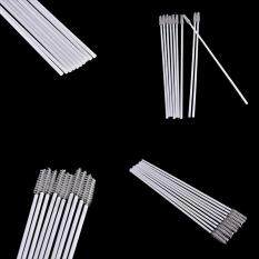 Jettingbuy 10pcs Stainless Steel Straw Reusable Washable Cleaner Cleaning Brush By Jettingbuy.