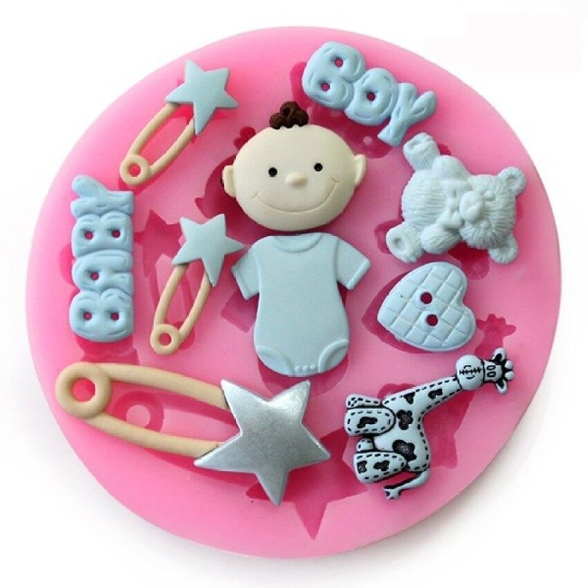 การตรวจสอบของ 1Pcs Party Silicone Babies For Sale Cake Mold Mould Sugarcraftfondant Decorating Tools Kitchen Accessories ซื้อ - มีเพียง ฿1,048.45