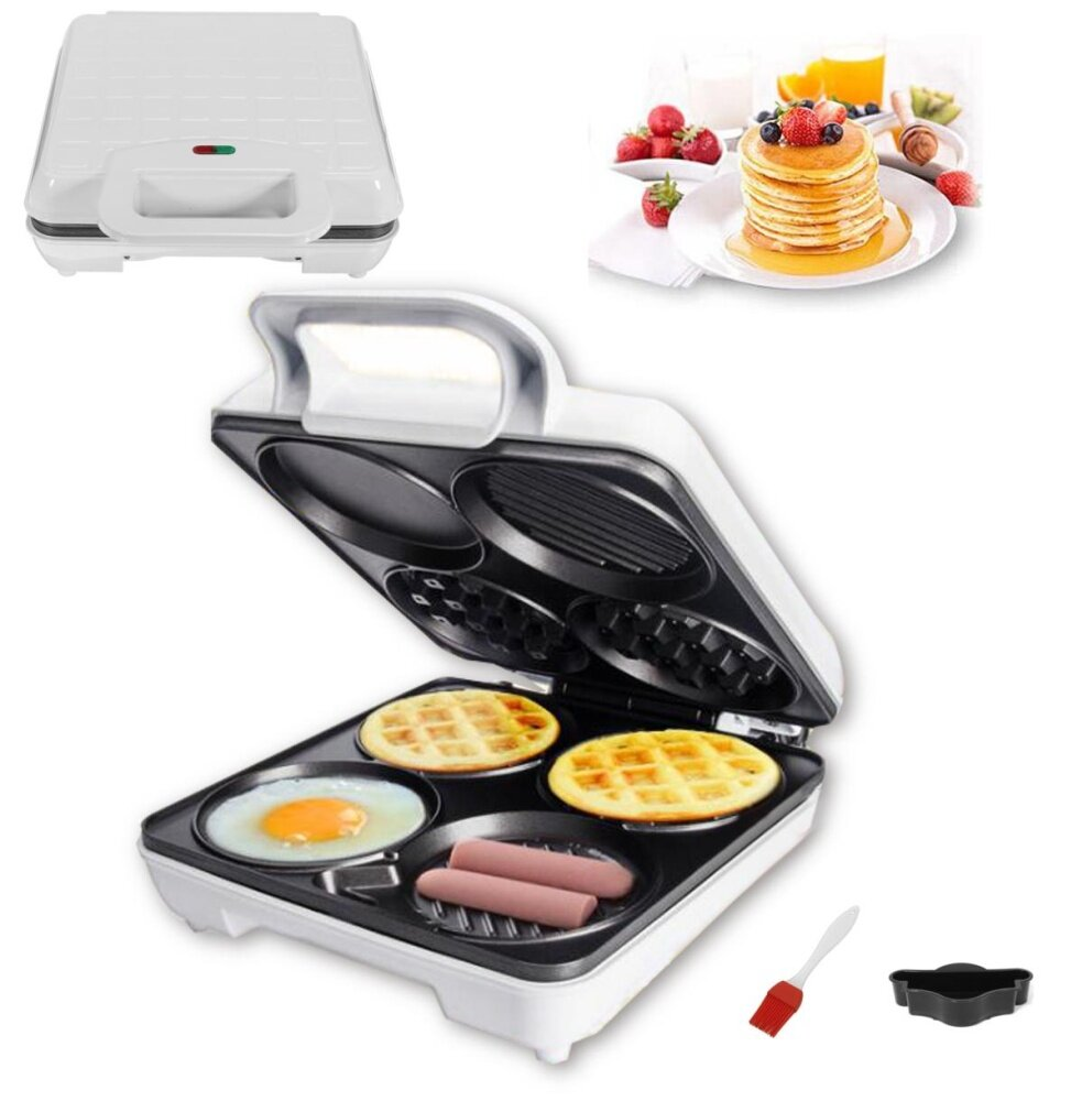 220v 1000w Nonstick Egg Waffle Pans Eggettes Bubble Waffle Iron Pans Mold Plates - Intl By Qiaosha.