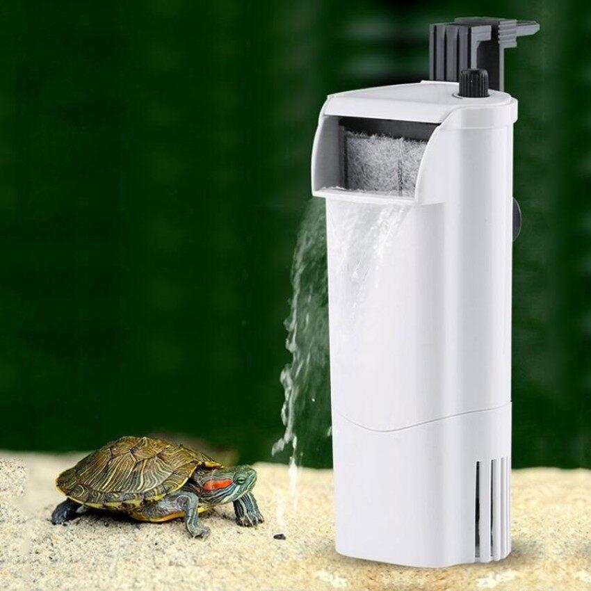 GFW 3W Waterfall Style Water Flow Adjustable Shallow Water Aquarium Fi Tank Silent Water Purifier,