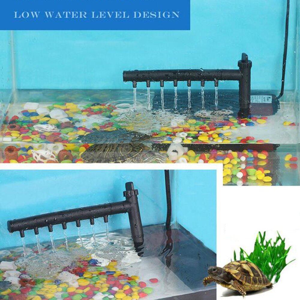 450-800 L/H Fish Tank Aquarium 3 in 1 Internal Submersible Filter Oxygen