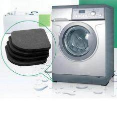 Bảng giá 4 Đen Vuông Máy Giặt Chống Rung Miếng Lót Tủ Lạnh Tắt Tiếng Thảm Lót Điện máy Pico