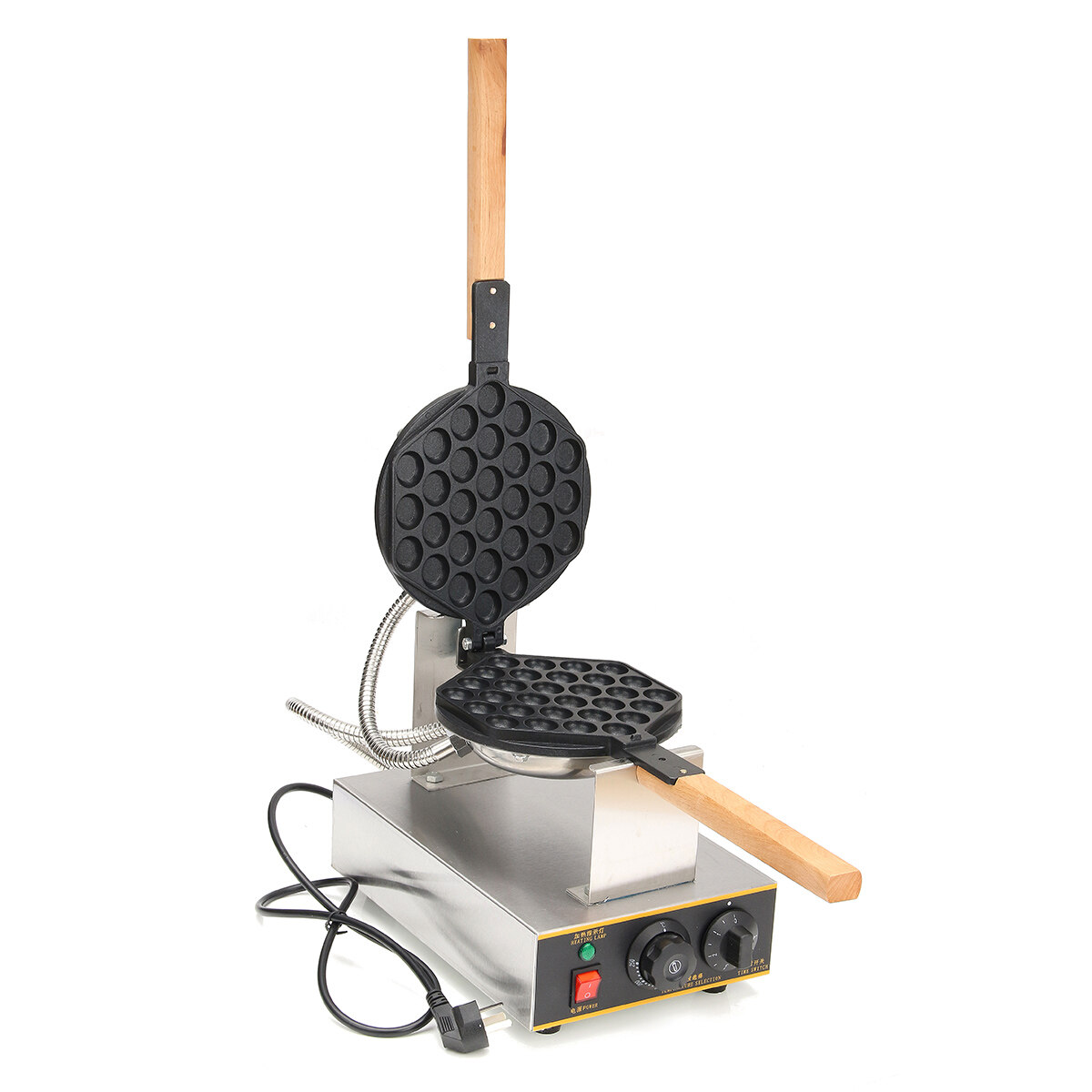 50℃-250℃ Electric Non-Stick Qq Egg Puff Waffle Maker Cake Oven Baking Machine - Intl By Audew.