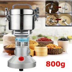 800g Electric High-Speed Herb Seasoning Feed Mill Grains Grinder Powder Machine By Teamtop.