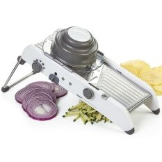 Adjustable Mandoline Slicer Professional Grater Stainless Steel Blades Vegetable Cutter Kitchen Accessories By Debby Store.