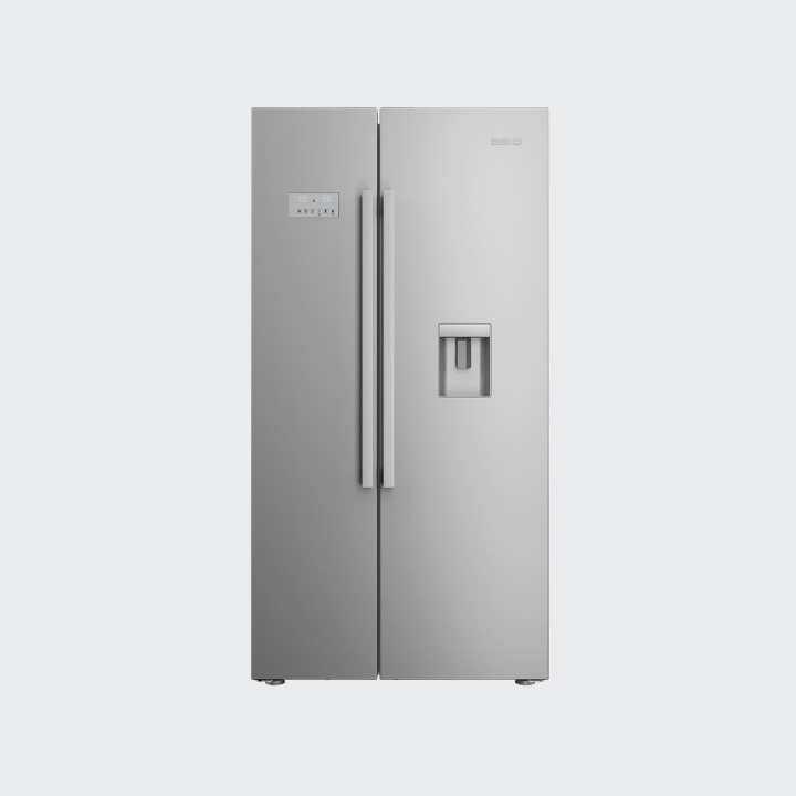 beko 630l side by side prosmart inverter refrigerator made in europe asd241x lazada. Black Bedroom Furniture Sets. Home Design Ideas