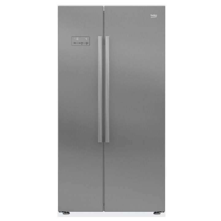 Beko ASL141X 640 L Stainless Steel Color Neo Frost SBS Fridge