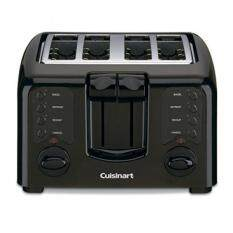 Cuisinart CPT-142BKFR REFURBISHED Compact 4-Slice Toaster, Black