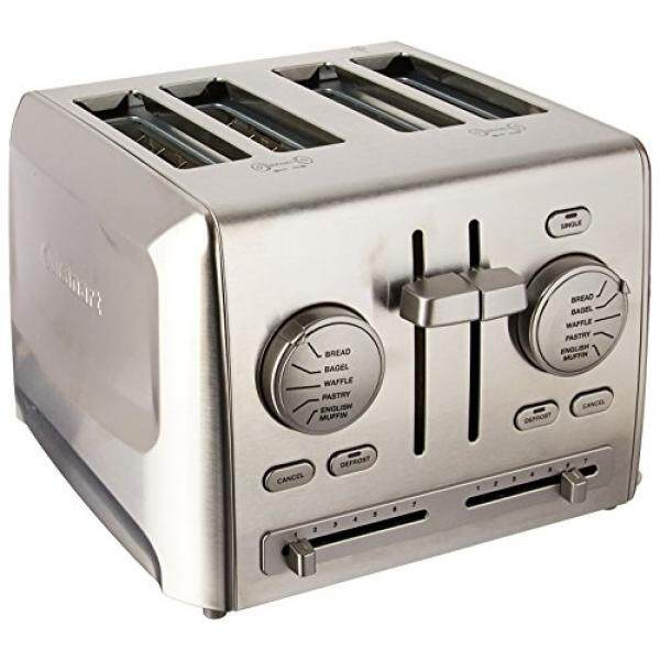 Cuisinart Cuisinart CPT-640 4-Slice Metal Toaster, Stainless Steel