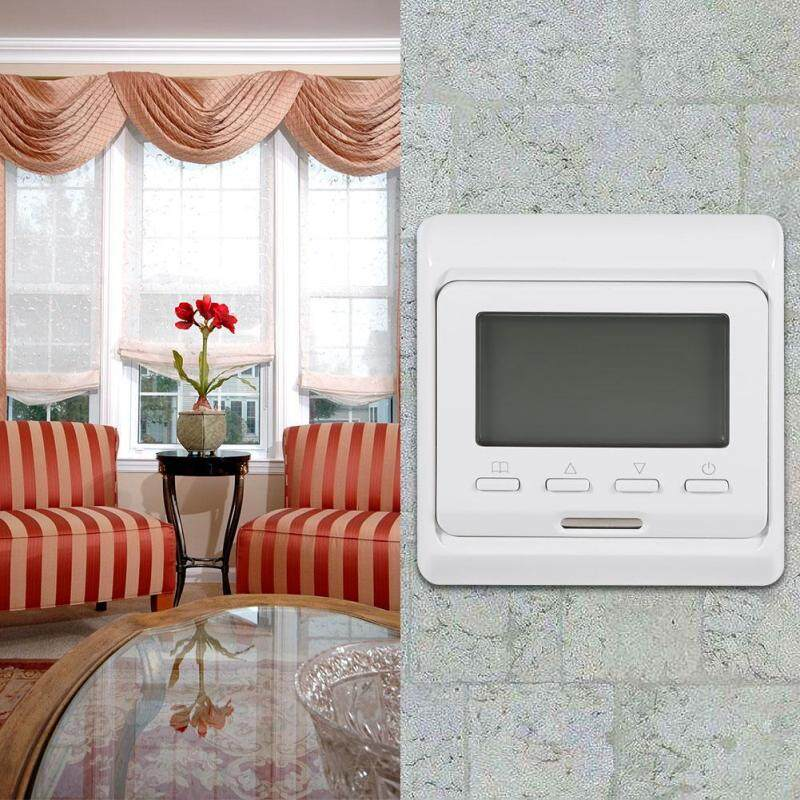 Bảng giá Digital LCD Display Weekly Programmable Floor Heating Thermostat Controller Điện máy Pico