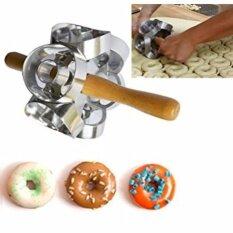 Century130 Diy 6 Sides Variable Pattern Roller Donut Cutter Maker Mould Fondant Cake Doughnut Bread Desserts Baking Mould By Century 130.