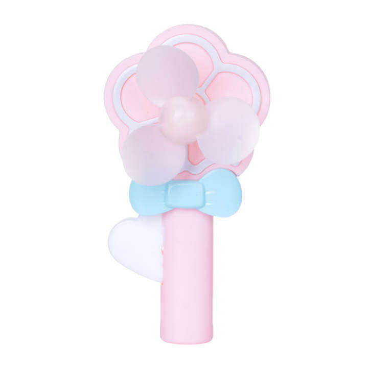 Candy color flower New style Mi Ni hand pressure fan