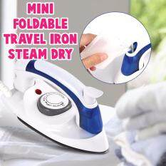 Foldable Mini Travel Steam&dry Iron Handheld Temperature Control By Target.