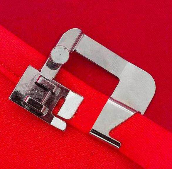 For Sale 2015 Presser Foot Curling Hem Presser Foot Leap FY811,812,780 Brother Butterfly Sewing Machine Parts 20mm - intl