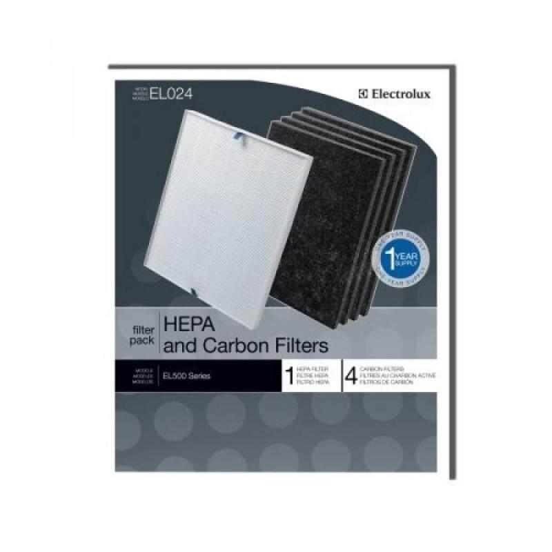 Genuine Electrolux HEPA and Carbon Filters EL024 - 1 HEPA filter, 4 carbon filters - intl Singapore