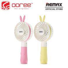 GENUINE REMAX F7 Bunny Mini Rechargeable Handheld Fan With Two Level Wind Speed Malaysia
