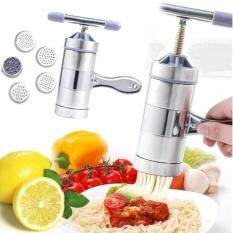 Household Stainless Steel Hand Pressure Noodle Maker With 5 Models