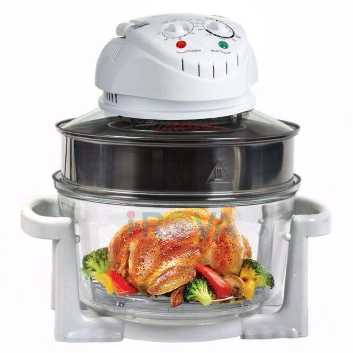iDover Oven Halogen Kaca Mangkuk Ayam Panggang Grill BBQ Extension Ring