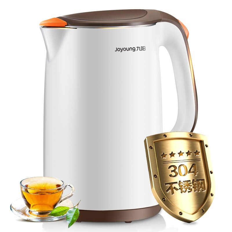 Joyoung K17 - F66 Electric Kettle Insulation Against The Hot Kettle 304 Stainless Steel Household 1.7 L