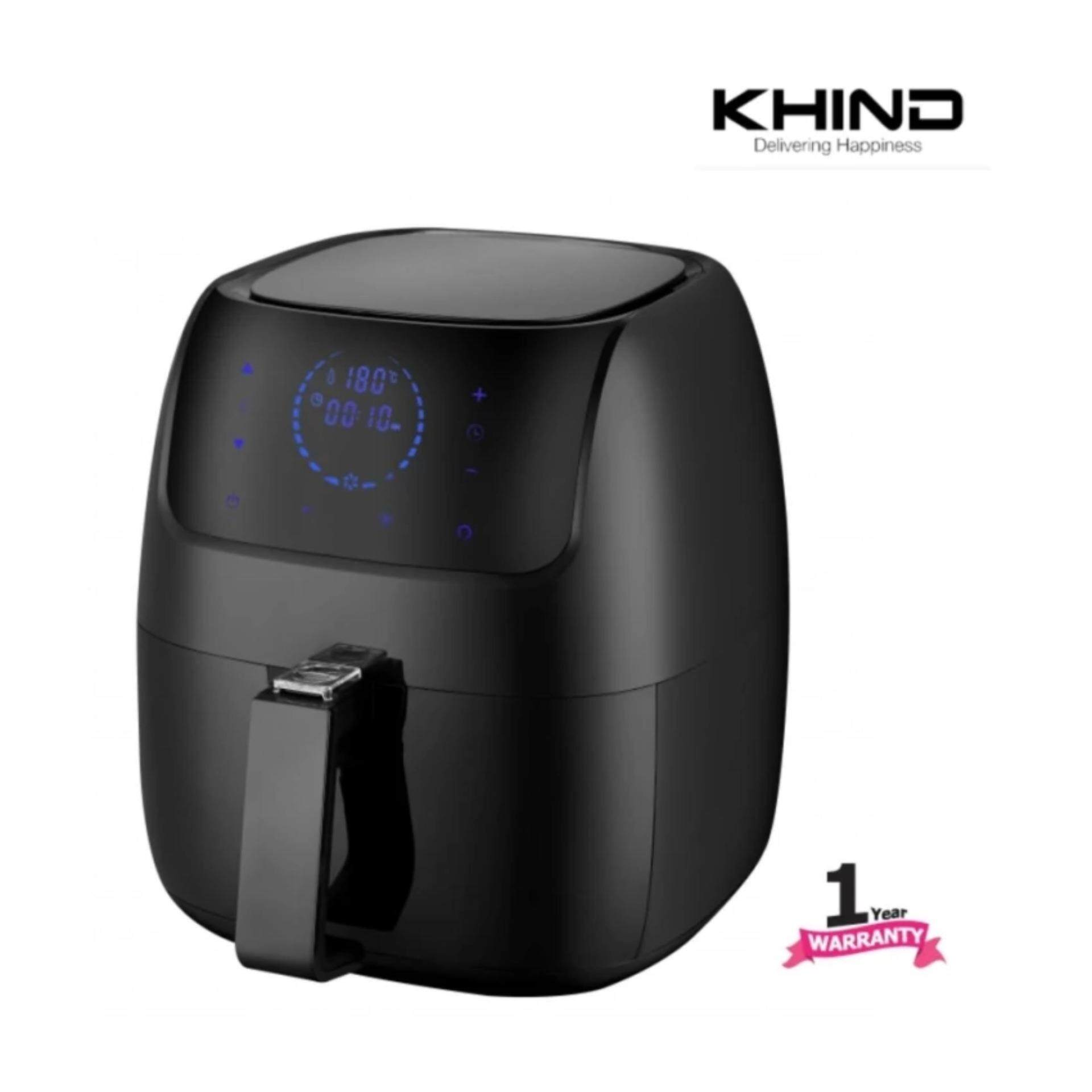 Khind Air Fryer Arf3000 With Digital Display 3l Multi Function 8 Options Latest Model