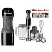 Compare KitchenAid Kitchen Aid Artisan 5KHB2571 Hand Blender Onyx Black    220 Volts Only! Will Not Work In The USA Price