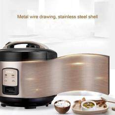 Konka Smart Electric Rice Cooker 3l Home Appliances For Kitchen Krc-30jx37 Gold & Black Eu Plug.