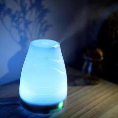 leegoal 100ml Essential Oil Diffuser,Portable Ultrasonic Aroma Cool Mist Air Humidifier Purifiers With 7 Color LED Lights Changing For Home Office(EU)