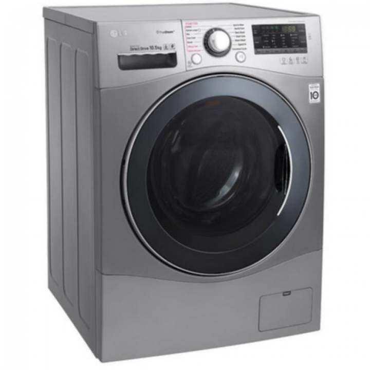 lg f1450spre 10 5kg front load direct drive inverter washing machine lazada. Black Bedroom Furniture Sets. Home Design Ideas