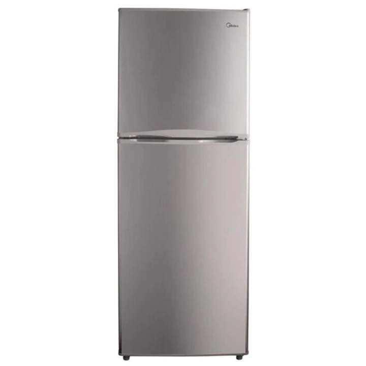 Midea MD-296 2-Door Refrigerator 228L (Silver)