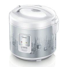 Midea Rice Cooker Mb-18yj (1.8l) Removable Steam Vent & Non Stick Inner Pot By Lazada Retail Midea.