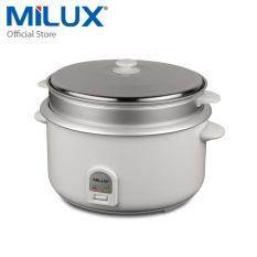 Milux Large Convention Rice Cooker 8.5l Mrc-285 By Milux Official Store.